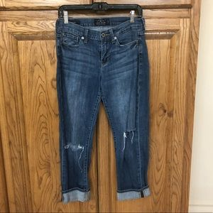Lucky Brand women's crop jeans